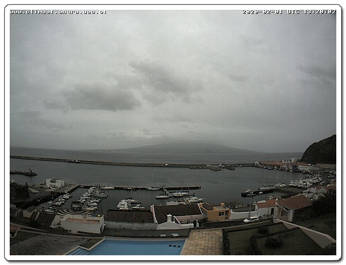 Webcam For The Port Of Horta